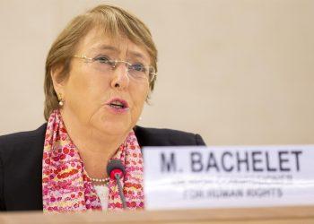 Michelle Bachelet, Alta Comisionada de Derechos Humanos de la Naciones Unidas, en una fotografía de archivo. EFE/Salvatore di Nolfi