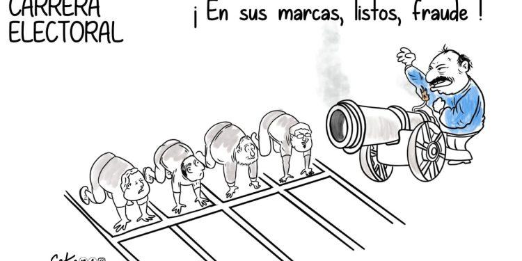 La Caricatura: Carrera electoral