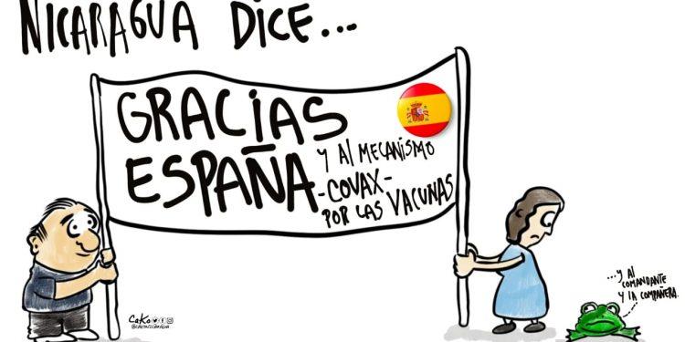 La Caricatura: Nicaragua agradece
