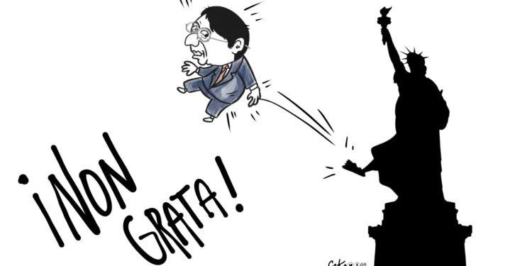 La Caricatura: Persona Non Grata