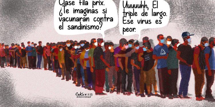 La Caricatura: Vacunación