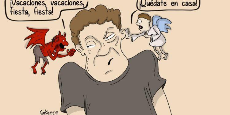 La Caricatura: Quédate en casa por vos y los tuyos