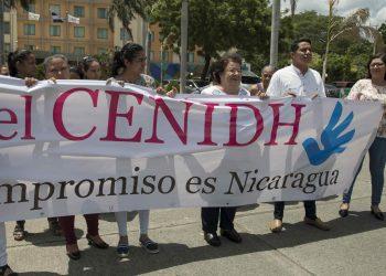 Centro Nicaragüense de Derechos Humanos. Foto. EFE / Jorge Torres