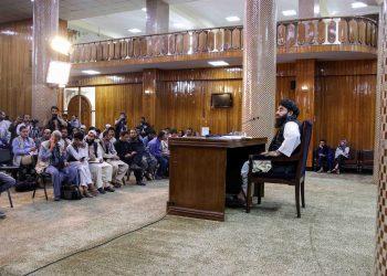 Los talibanes reclaman el control de todo Afganistán con la caída de Panjshir. Foto/EFE/EPA/STRINGER