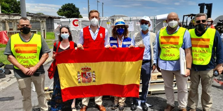 Nicaragua recibe quinto lote de vacunas donadas por España con más de 620 mil dosis. Foto: Archivo/Artículo 66