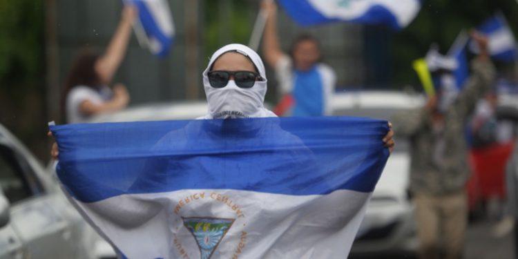 Nicaragüenses en el exilio por crisis política y económica. Foto: Internet