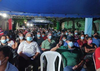 Vacunación empezó desde la madrugada del jueves en Rivas