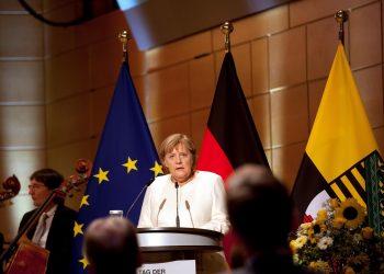 Angela Merkel, canciller alemana. Foto: Artículo 66 / EFE