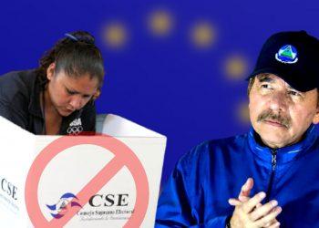 UE: Ortega eliminó elecciones serias y cercenó derecho de nicaragüenses a elegir