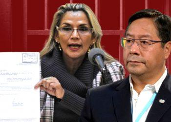 Áñez pide defenderse en libertad en una carta al presidente de Bolivia