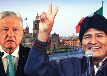 """Evo Morales: """"Gracias México por salvar mi vida dos veces con el asilo"""""""