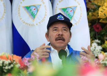 Dictador de Nicaragua, Daniel Ortega. ARTÍCULO 66 / Cortesía de Canal 4