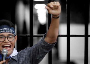 Lesther Alemán: «Mi encarcelamiento es temporal. Voy a salir de aquí caminando para gozar de una Nicaragua libre»