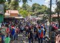 Nicaragüenses siguen optando por vacunarse en Honduras, ante desconfianza de vacunas cubanas y rusas. Foto: Artículo 66 / Cortesía