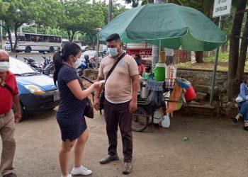 Proceso de vacunación en Nicaragua a mujeres embarazadas, puérperas y lactantes. Foto: Artículo 66 / Noel Miranda