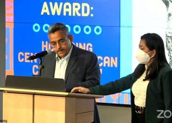 Gonzalo Carrión, presidente del Colectivo de DD.HH. Nicaragua Nunca Más. Foto: NED