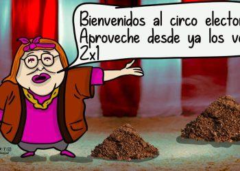 La Caricatura: Votos 2x1