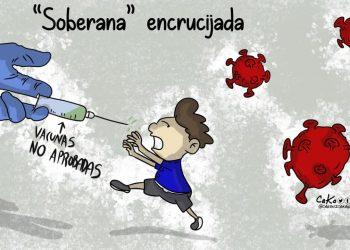 La Caricatura: «Soberana» encrucijada
