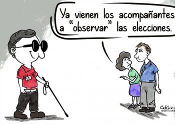 La Caricatura: Acompañantes electorales