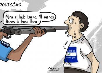 La Caricatura: Comiendo balas