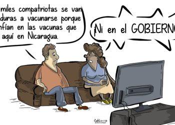 La Caricatura: Desconfianza nacional