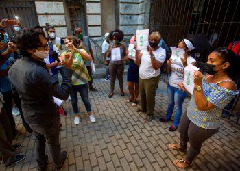 Régimen cubano niega derecho de marcha pacífica a sociedad civil