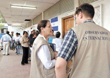 De la observación internacional al acompañamiento electoral en Nicaragua. Foto: La Prensa